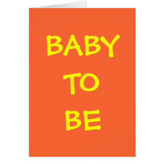 BABY TO BE GIFT CARDS