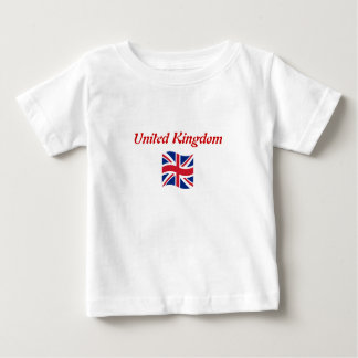 Baby to Toddler - T-Shirt with UK Flag