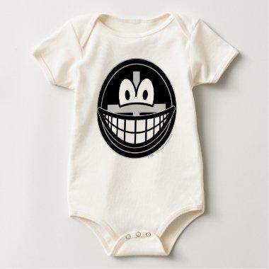 Black widow smile   baby_toddler_apparel_tshirt