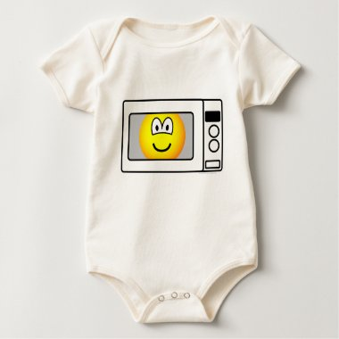 Microwaved emoticon   baby_toddler_apparel_tshirt