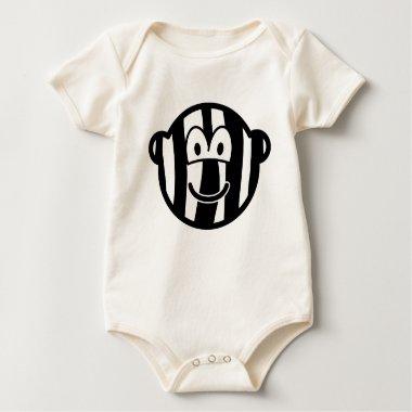 Zebra buddy icon   baby_toddler_apparel_tshirt