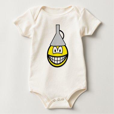 Idiot smile   baby_toddler_apparel_tshirt