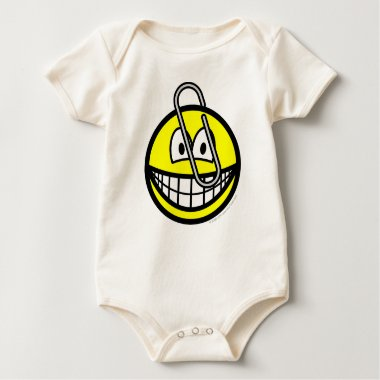 Paperclipped smile   baby_toddler_apparel_tshirt