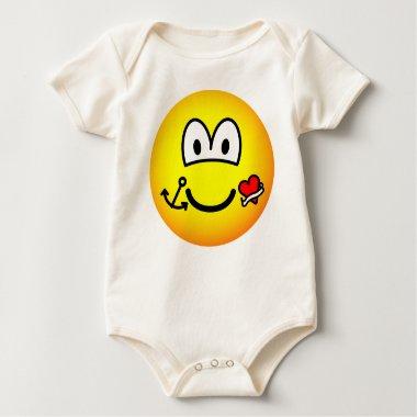 Tattoo emoticon   baby_toddler_apparel_tshirt