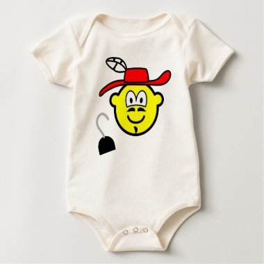 Captain hook buddy icon Peter Pan  baby_toddler_apparel_tshirt