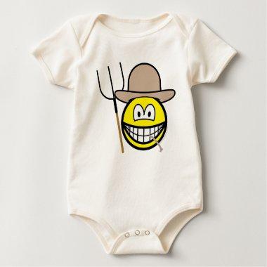 Farmer smile   baby_toddler_apparel_tshirt