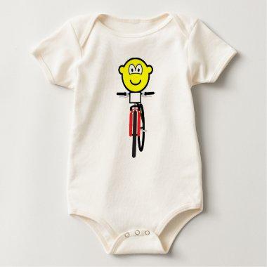 Mountain biking buddy icon Olympic sport Cycling baby_toddler_apparel_tshirt