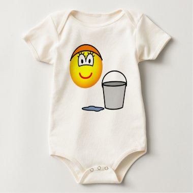 Cinderella emoticon   baby_toddler_apparel_tshirt