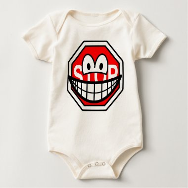 Stop sign smile   baby_toddler_apparel_tshirt