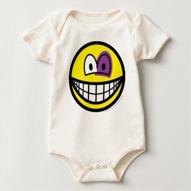 Black eyed smile   baby_toddler_apparel_tshirt