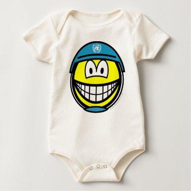 UN soldier smile   baby_toddler_apparel_tshirt