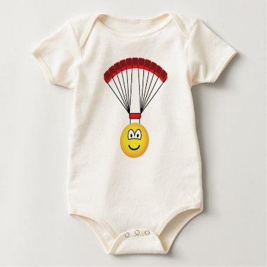 Parachute emoticon   baby_toddler_apparel_tshirt