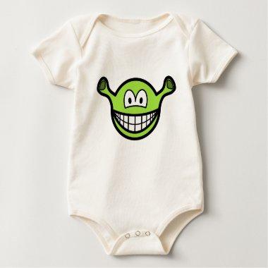 Shrek smile   baby_toddler_apparel_tshirt