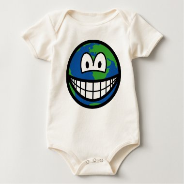 Earth smile   baby_toddler_apparel_tshirt