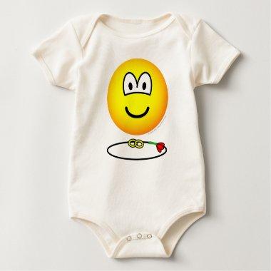 Ring bearer emoticon   baby_toddler_apparel_tshirt