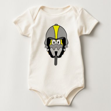 Air force pilot emoticon   baby_toddler_apparel_tshirt