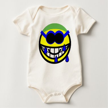 Swimming smile   baby_toddler_apparel_tshirt
