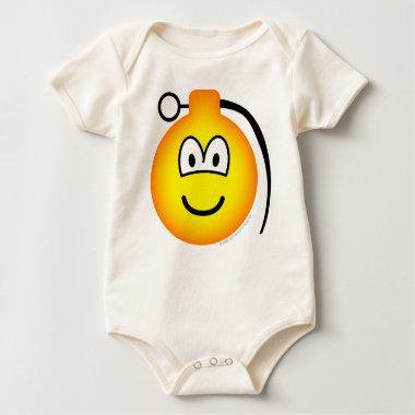 Grenade emoticon   baby_toddler_apparel_tshirt