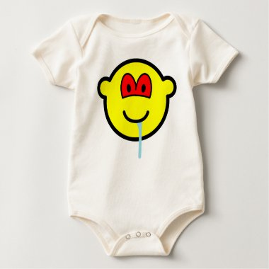Zombie buddy icon   baby_toddler_apparel_tshirt