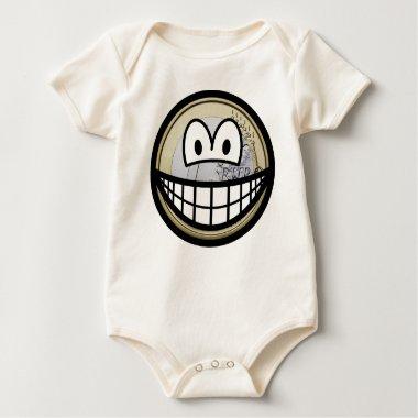 Euro coin smile   baby_toddler_apparel_tshirt
