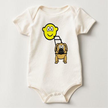 Guide dog buddy icon   baby_toddler_apparel_tshirt