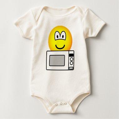 Microwaving emoticon   baby_toddler_apparel_tshirt