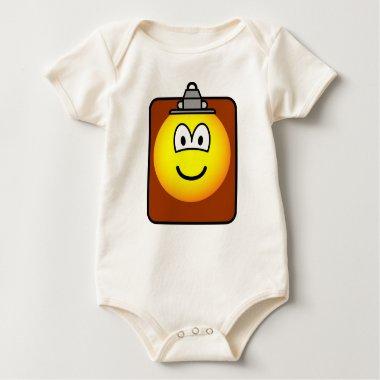 Clipboard emoticon   baby_toddler_apparel_tshirt