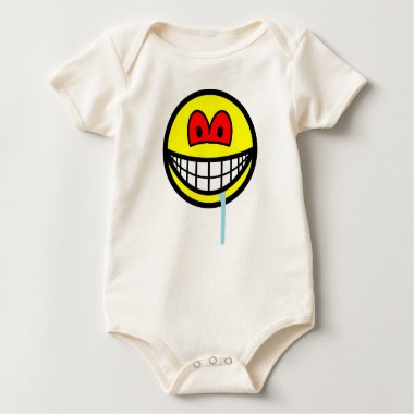 Zombie smile   baby_toddler_apparel_tshirt