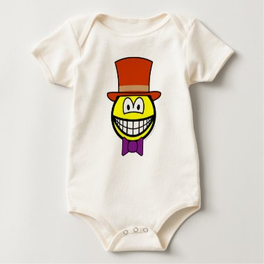 Willy Wonka smile   baby_toddler_apparel_tshirt