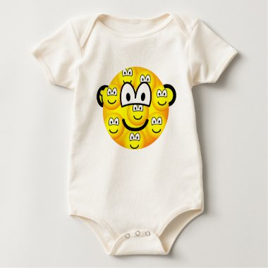 Multiple personality emoticon   baby_toddler_apparel_tshirt