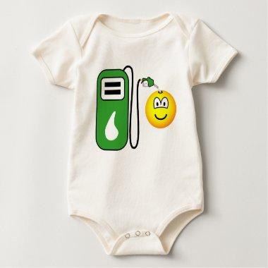 Filling up emoticon   baby_toddler_apparel_tshirt