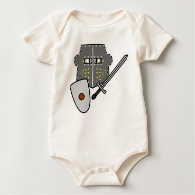 Fighting Knight emoticon   baby_toddler_apparel_tshirt