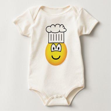 Chef emoticon   baby_toddler_apparel_tshirt