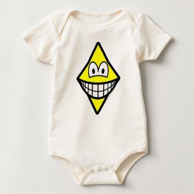 Diamonds smile   baby_toddler_apparel_tshirt