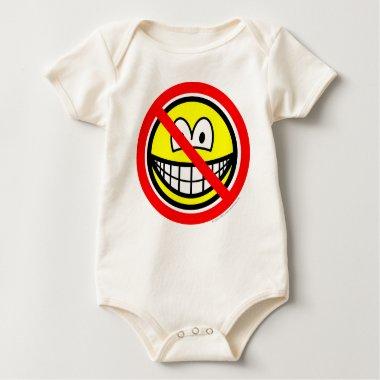 No sad smilies   baby_toddler_apparel_tshirt