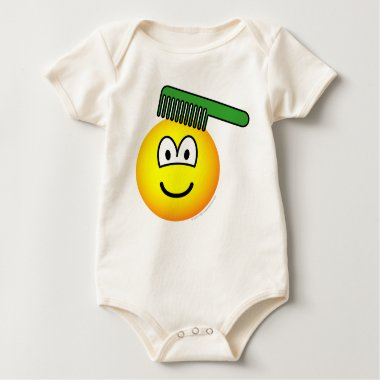 Combing emoticon   baby_toddler_apparel_tshirt