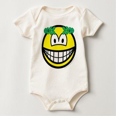 Caesar smile   baby_toddler_apparel_tshirt