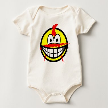 Anarchist smile   baby_toddler_apparel_tshirt