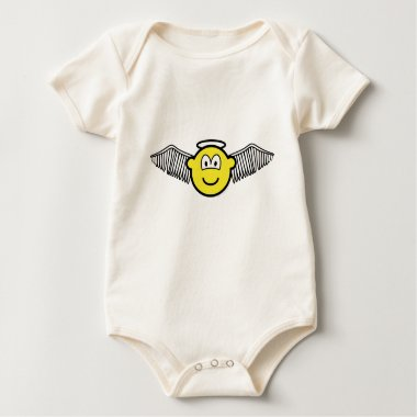 Winged angel with halo buddy icon   baby_toddler_apparel_tshirt