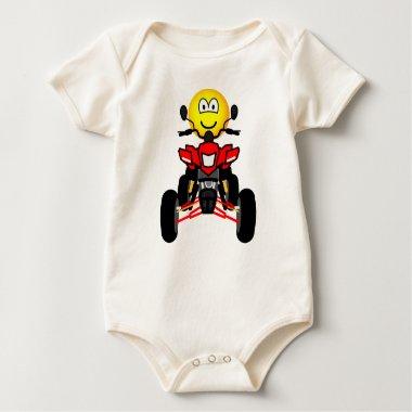 Quad bike emoticon China quad  baby_toddler_apparel_tshirt