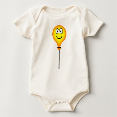 Balloon emoticon On a string  baby_toddler_apparel_tshirt