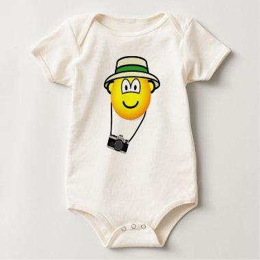Tourist emoticon   baby_toddler_apparel_tshirt
