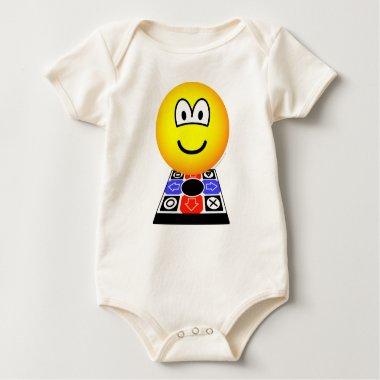 Dance dance revolution emoticon   baby_toddler_apparel_tshirt