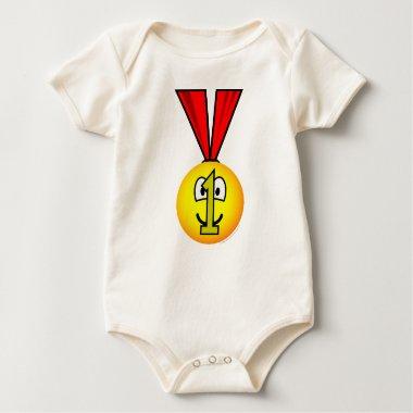 Medal emoticon   baby_toddler_apparel_tshirt