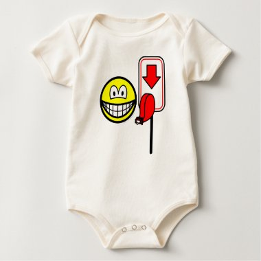 Queueing smile take a number  baby_toddler_apparel_tshirt