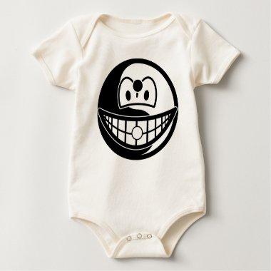 Ying Yang smile [Black/Yellow]  baby_toddler_apparel_tshirt