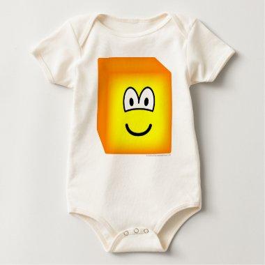 Cube emoticon   baby_toddler_apparel_tshirt