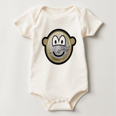 Euro coin buddy icon   baby_toddler_apparel_tshirt