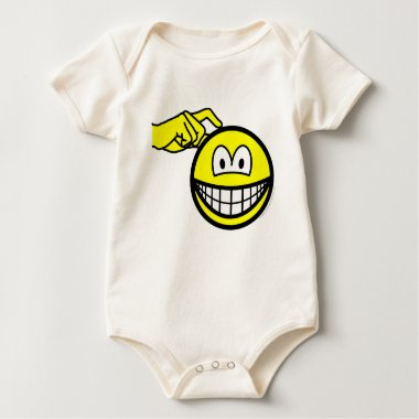 Head scratching smile   baby_toddler_apparel_tshirt