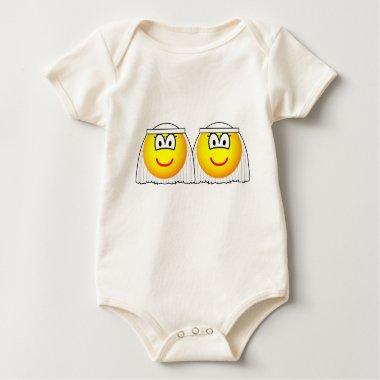 Gay Marriage emoticons Female  baby_toddler_apparel_tshirt